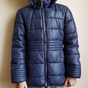 8c7fe814110 Mayoral Girls Navy Blue Padded Jacket